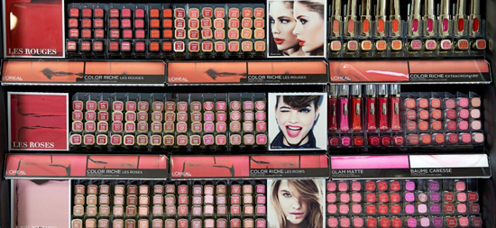maquillage l'oreal auchan