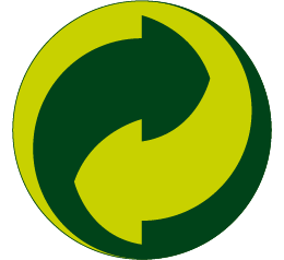 Logo point vert eco emballage