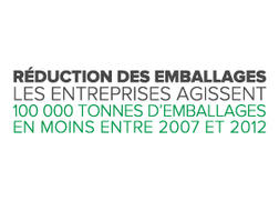 Réduction emballages