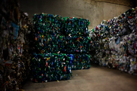Balles d'emballages pour recyclage
