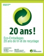 Eco-Emballages 20 ans